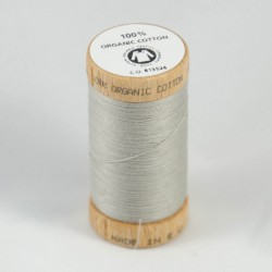Bobine bois de fil 100% coton bio Gris Souris