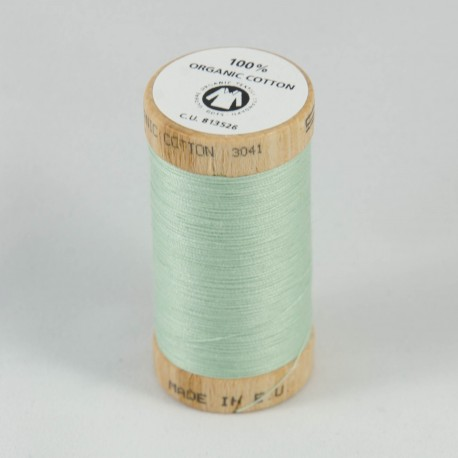 Bobine de fil 100% coton bio Vert Amande