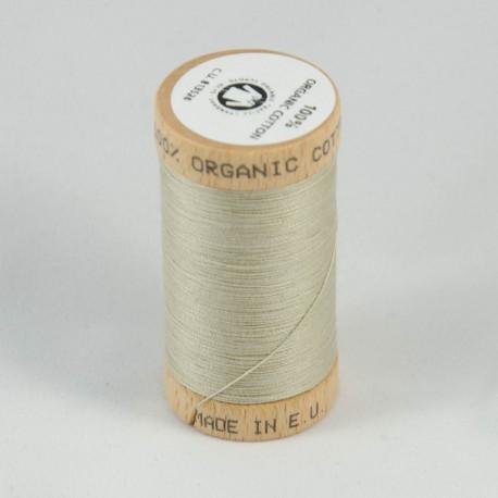 Bobine de fil 100% coton bio Taupe Clair Blé