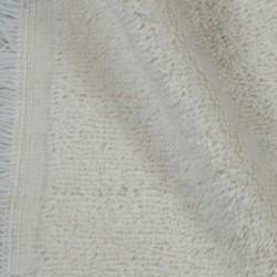 Tissu éponge écru 100% coton BIO bien épais et moelleux