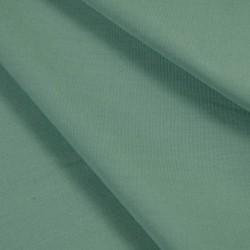 Tissu Bleu Vert Popeline fine coton BIO doux