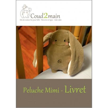 Livret ludique de couture Peluche Mimi le lapin