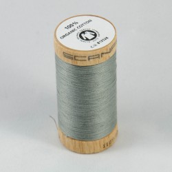 Bobine de fil 100% coton bio Gris Souris