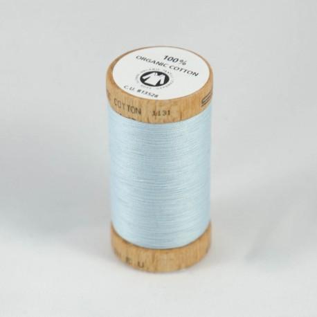 Bobine de fil 100% coton bio Ciel Glace